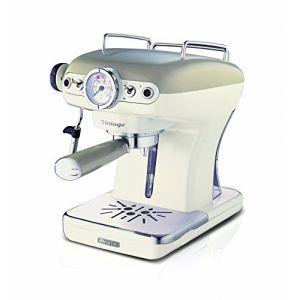 Ariete 1389 Vintage - Machine à café avec buse vapeur
