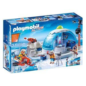 Playmobil 9055 Action - Quartier général des explorateurs polaires