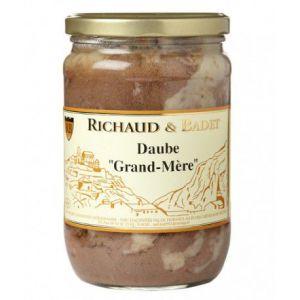 "Richaud & badet Daube ""Grand-Mère"", Bocal 600 gr"