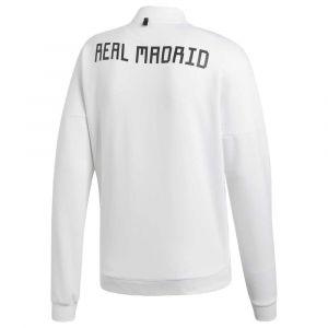 Adidas Veste Veste Real Madrid Zne 2018-19 blanc - Taille EU S,EU M,EU L,EU XL