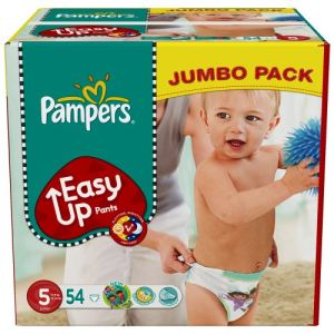 Pampers Easy Up taille 5 Junior (12-18 kg) - Jumbo pack x 54 couches