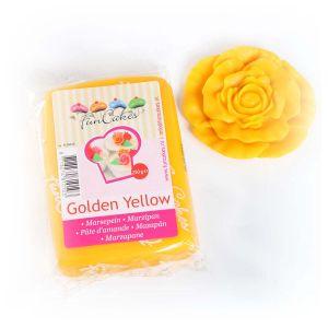 FunCakes Pâte d'amande à étaler - jaune doré - 250g