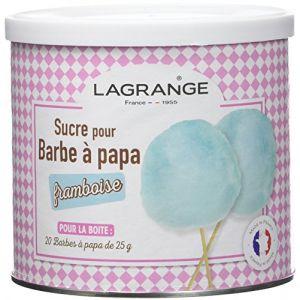 Lagrange Sucre framboise pour barbe à papa