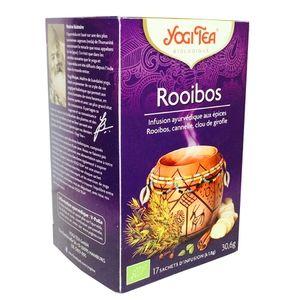 Yogi Tea Exotique Rooibos - Infusion ayurvédique 17 sachets
