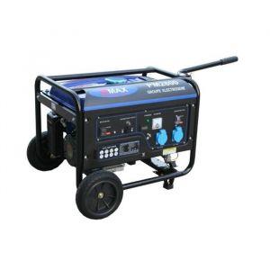 Power maxx Groupe électrogène 2800 W 230 V - Moteur essence 4 temps - Moteur 4 temps : 6,5 CV - Puissance : 2800 W (max) / 2500W - Carburant : SP98 - Équipé: AVR, 3 prises 230 V