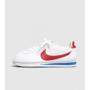 Nike Classic Cortez Leather, Baskets Femme, Blanc (White/Varsity Red-Varsity Royal 103), 39 EU
