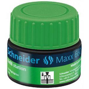Schneider Electric 166004 - Station de recharge Maxx 660, encre verte de surligneur