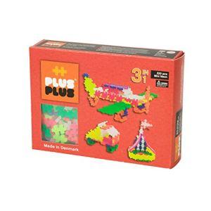 Plus Plus Box 3 en 1 Mini néon 220 pièces