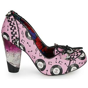 Irregular Choice Chaussures escarpins ROCKO rose - Taille 36,39,40,43