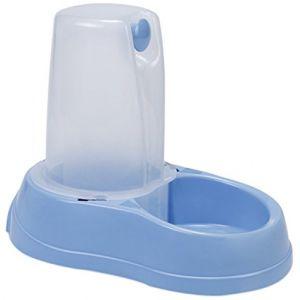 Zolux Distributeur d'eau antidérapant bleu pastel - 1,5 l