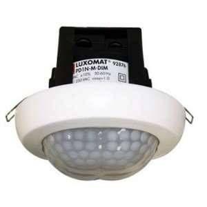 BEG Détecteur de présence à télécommande PD1N-M-DIM-FP Luxomat Faux Plafond Blanc 92876