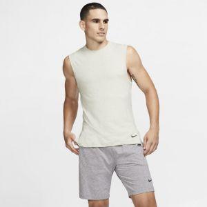 Nike Débardeur de training de yoga Dri-FIT pour Homme - Vert - Taille M - Male