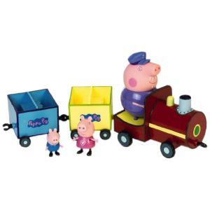 Giochi Preziosi Train Peppa avec 3 Personnages