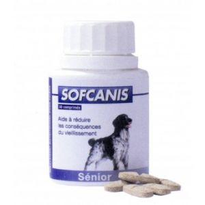 Sofcanis Complément alimentaire Canin Senior 50 comprimés