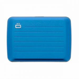Ögon Designs Porte cartes en aluminium V2 bleu étanche