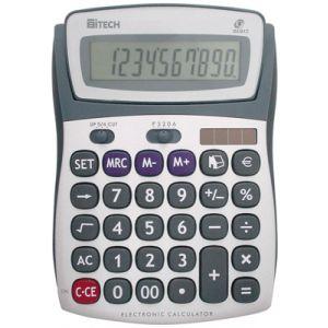 Truly CT66912BL - Calculatrice de bureau 10 chiffres