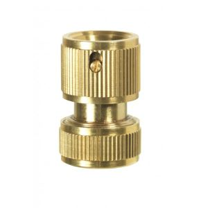 Ribiland PRA/RLB.4216 - Raccord rapide stop laiton 15 mm