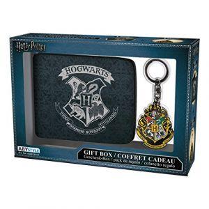 Abysse Corp Pack portefeuille & porte-clés Harry Potter Poudlard