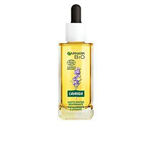 Garnier Bio Huile Raffermissante pour le Visage à l'Huile Essentielle de Lavande, d'Argan Biologique et de Vitamine E - 30 ml