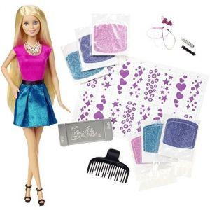 Mattel Barbie styles et paillettes