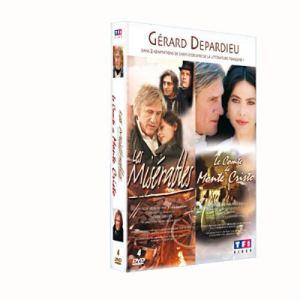 Coffret Gérard Depardieu - Les Misérables + Le Comte De Monte Cristo
