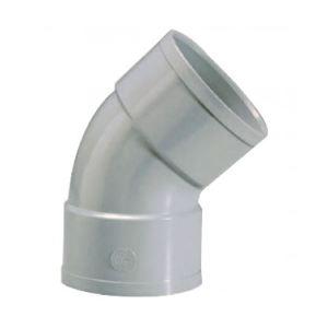 GIRPI 191027 - Coude à 45° Femelle / Femelle Diamètre 125 mm