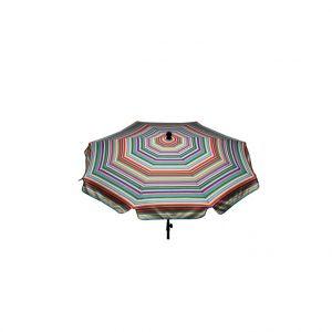 Jardin prive Parasol Ø 240 cm Manon Multi