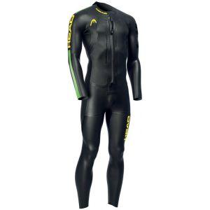 Head Swimrun Race 6.4.2.1,5 - Homme - noir XL Combinaisons triathlon