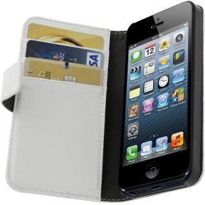 Avizar 381604557689 - Étui à clapet pour iPhone 5