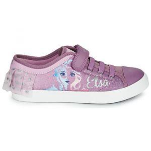 Geox Baskets basses enfant JR CIAK GIRL violet - Taille 28,29,30,31,32,33,34