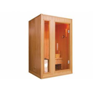 Malöm II - Sauna traditionnel 2 places Gamme prestige