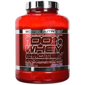 Scitec nutrition 100% whey protein professional - 2.35 kg Vanille-Fruits des Bois