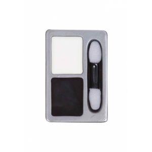 Palette maquillage noir et blanc Taille Unique