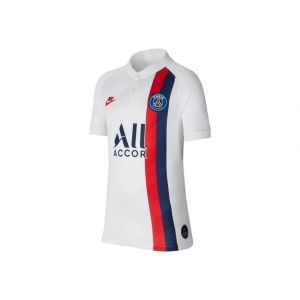Nike Maillot de football Paris Saint-Germain 2019/20 Stadium Third pour Enfant plus âgé - Blanc - Taille M - Unisex