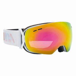 Image de Alpina Granby Small Mm S40 Multi Mirror Pink Spherical/CAT3 - Masque de ski