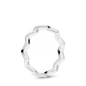 Pandora : Bague Zigzag Intemporel Femme