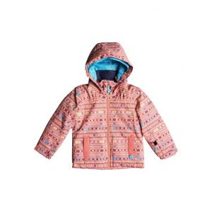 Roxy Mini Jetty - Veste de snow pour Fille 2-7 ans - Rose