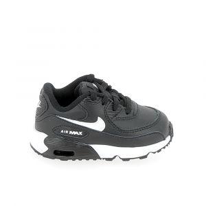 Nike Chaussure bebe air max 90 bb noir blanc 21