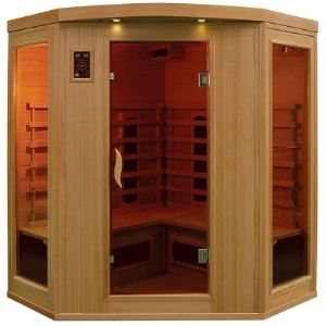 Image de France Sauna Apollon 2/3 - Sauna cabine infrarouge pour 2/3 personnes