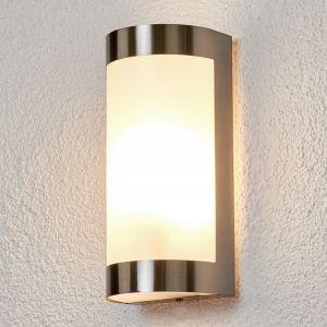 Lampenwelt Applique d'extérieur Alvin inox