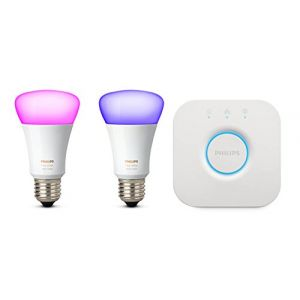 Philips Kit de démarrage Lighting Hue white and color ambiance 8718696685754 E27 10 W RVBB