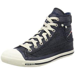 Diesel Exposure, Baskets mode homme, Bleu, 44 EU (9.5 Herren UK)