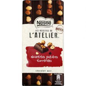 Nestlé Chocolat noisettes entières torréfiées - La plaquette de 195g