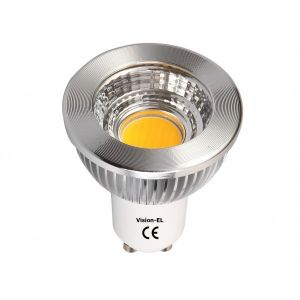 Vision-El Spot led GU10 COB 5 watt (eq. 45 watt) - finition blanche - Couleur eclairage - Blanc neutre