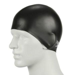 Speedo Bonnet de bain en silicone moulé(Noir)