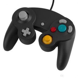 Straße Game 2 X Manettes Pour Nintendo Wii, Wii U Et Gamecube - Noir