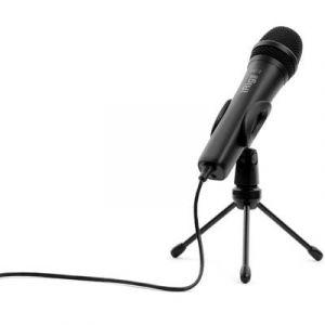 Ik multimedia IP-IRIG-MICHD2-IN microphone de condensateur de poche haute définition 96kHz pour iOS, Mac / PC