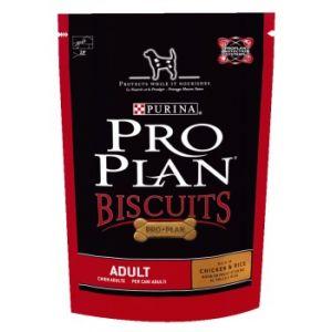 Purina Pro Plan Biscuits poulet et riz pour chien adulte 400 gr