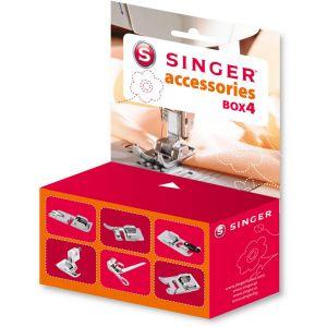 Singer Kit Accessoires N°4 : Pieds de Biche Compatibles