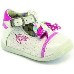 Catimini Calathea, Chaussures Marche bébé fille, Blanc (39 VNV Blanc DPF/Gluck), 21 EU